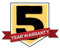 Old Hickory 5 year Warranty